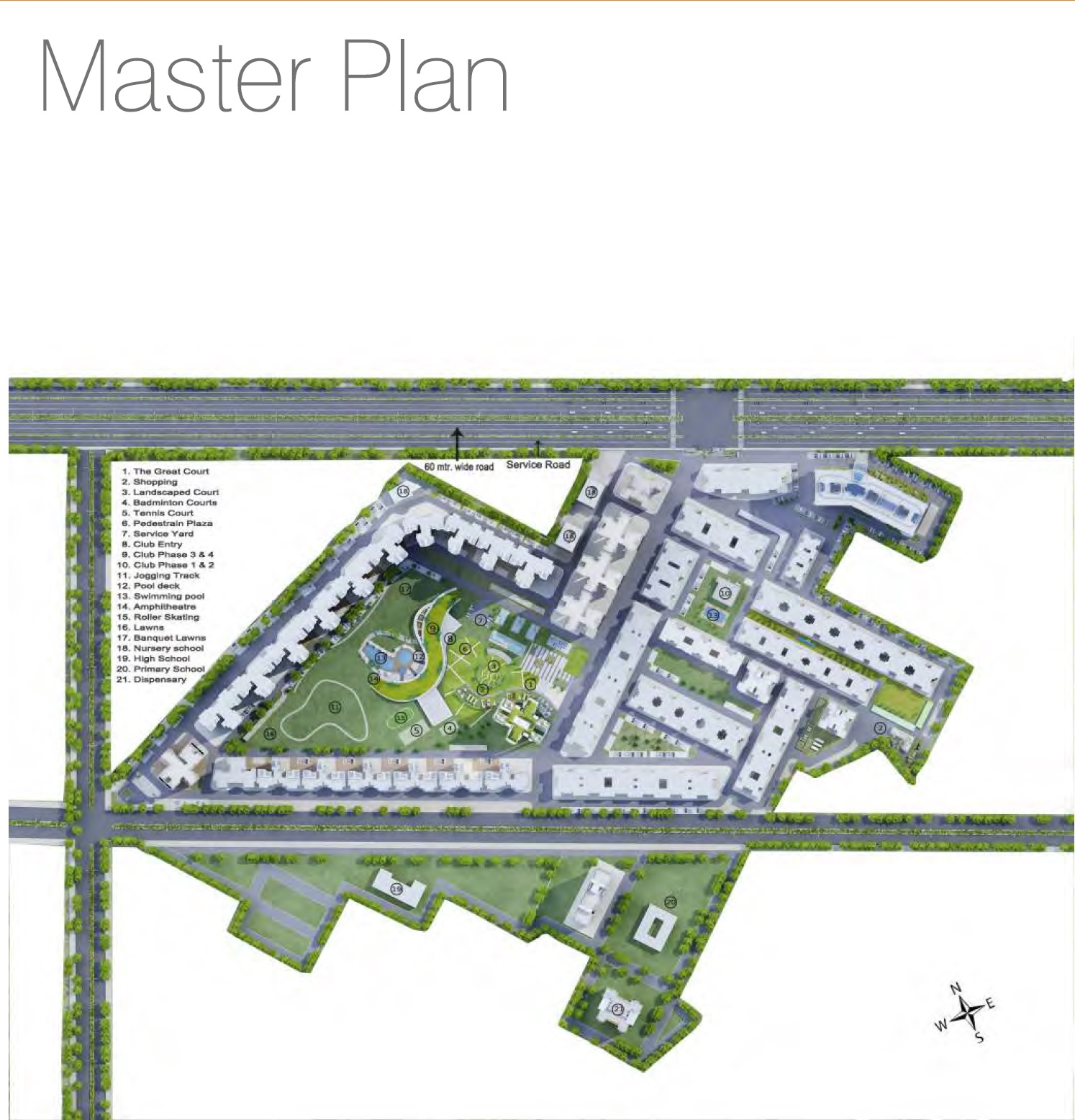 sare club terraces master plan image6