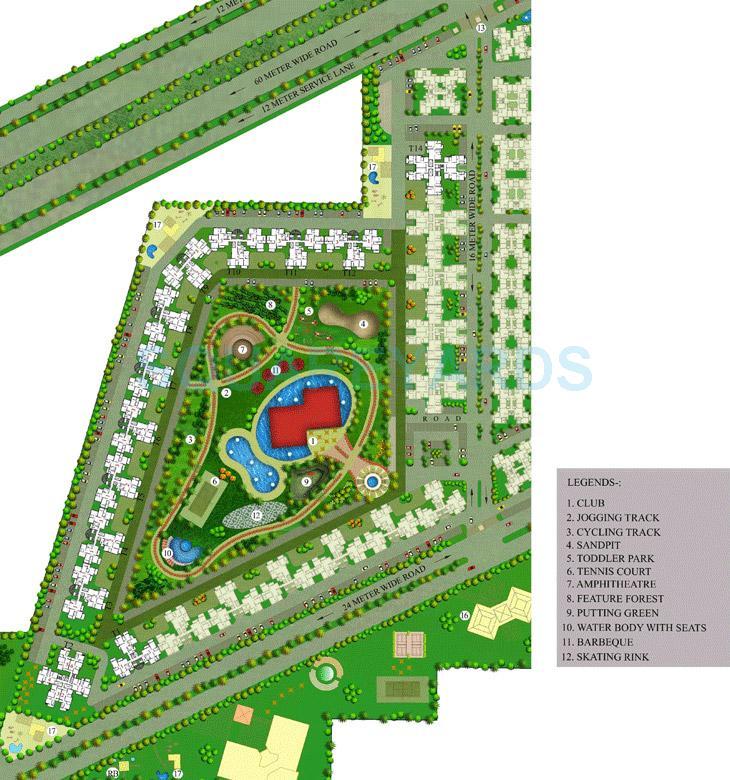 sare crescent parc master plan image1