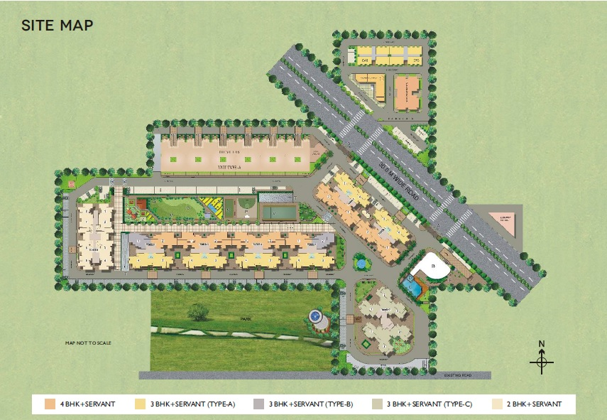satya the hermitage project master plan image1