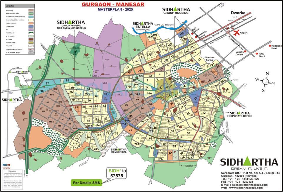 sidhartha ncr green location image1