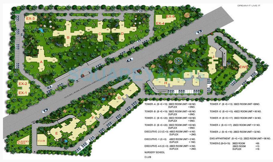 sidhartha ncr one master plan image1