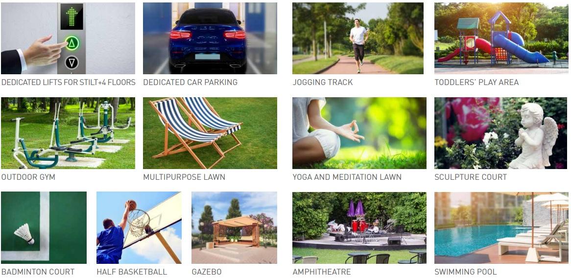 signature global park amenities features10
