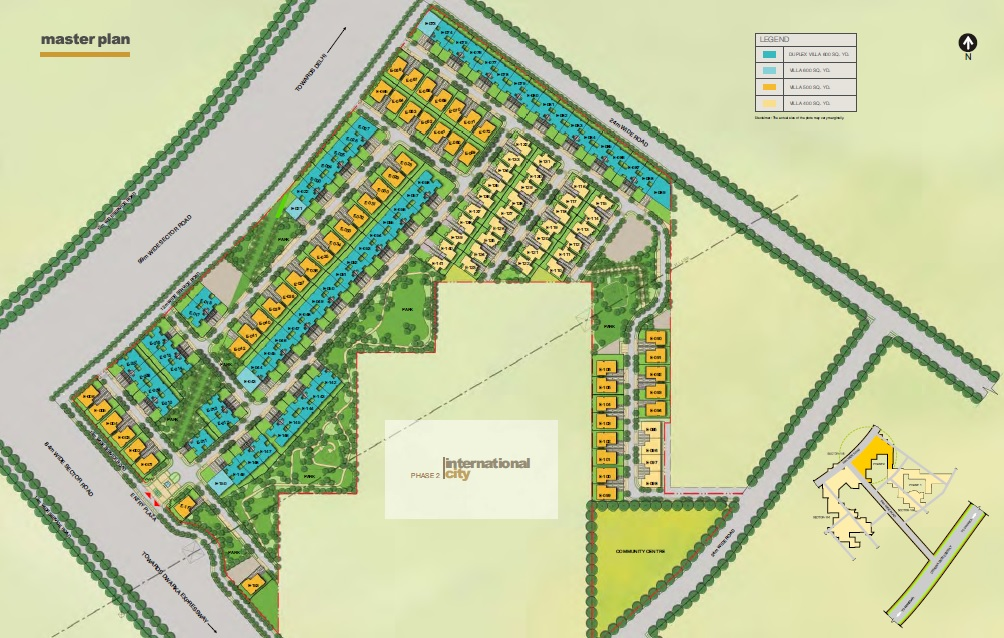 sobha international city phase 2 master plan image8