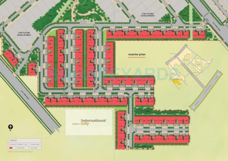 sobha international city phase 3 master plan image1