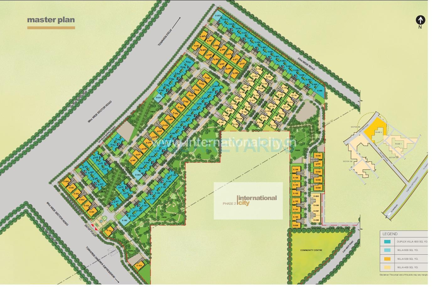 sobha international city phase2 master plan image1