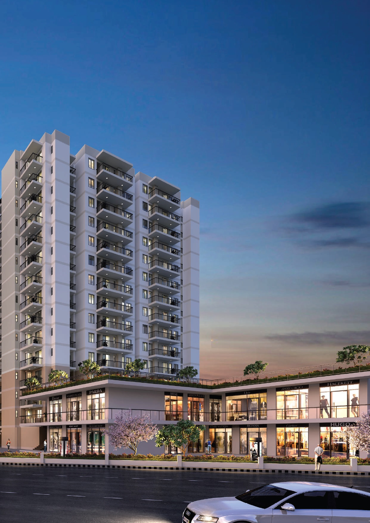 suncity avenue 76 project tower view1