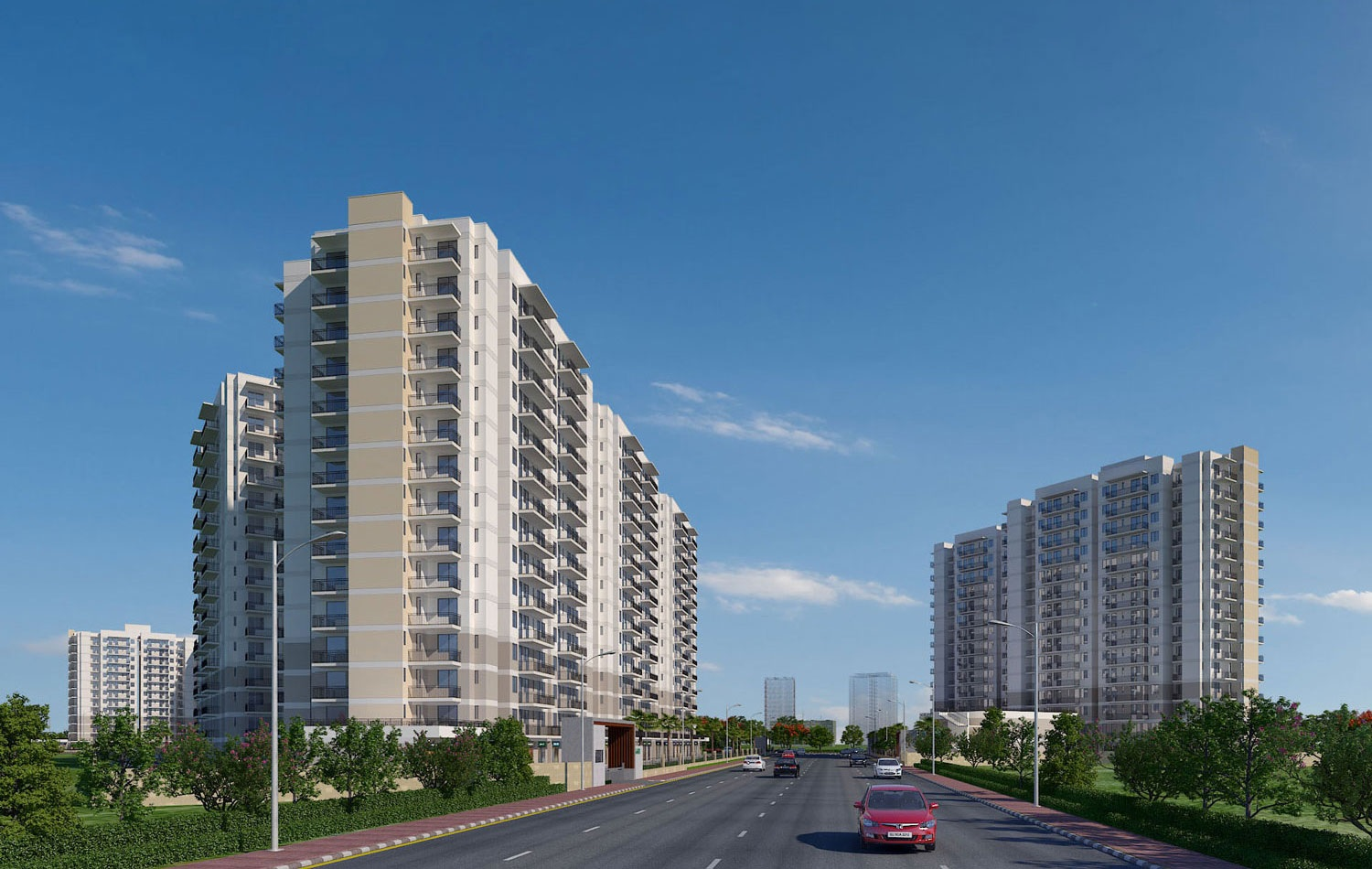 suncity avenue 76 project tower view5