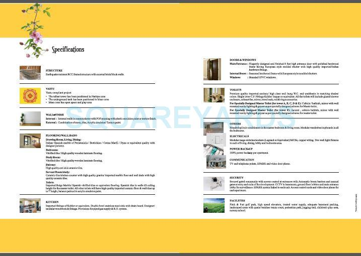 supertech araville specification1