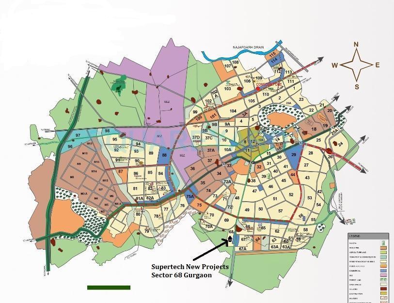 supertech azaliya location image1