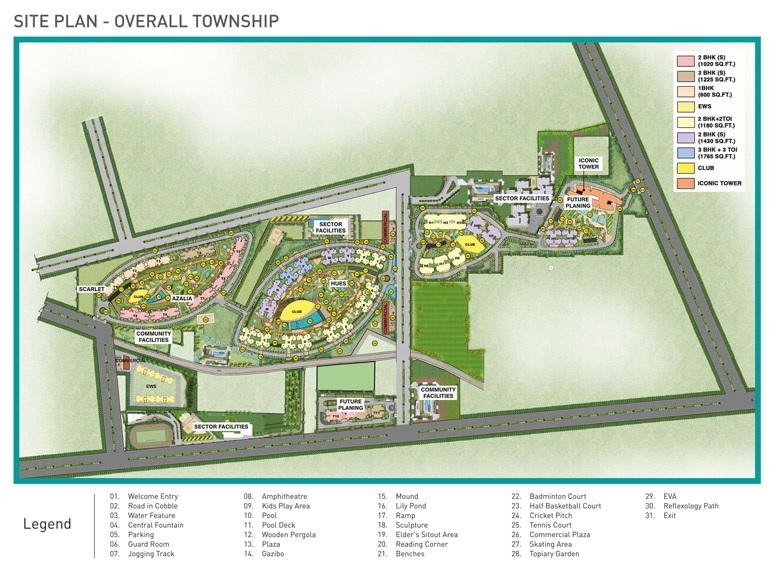 supertech jade towers master plan image4