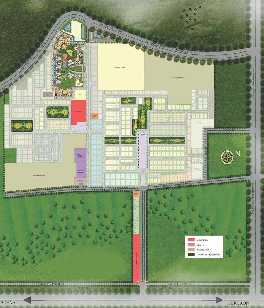 supertech montana view master plan image4