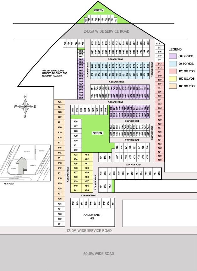 supertech sambhav homes project master plan image1
