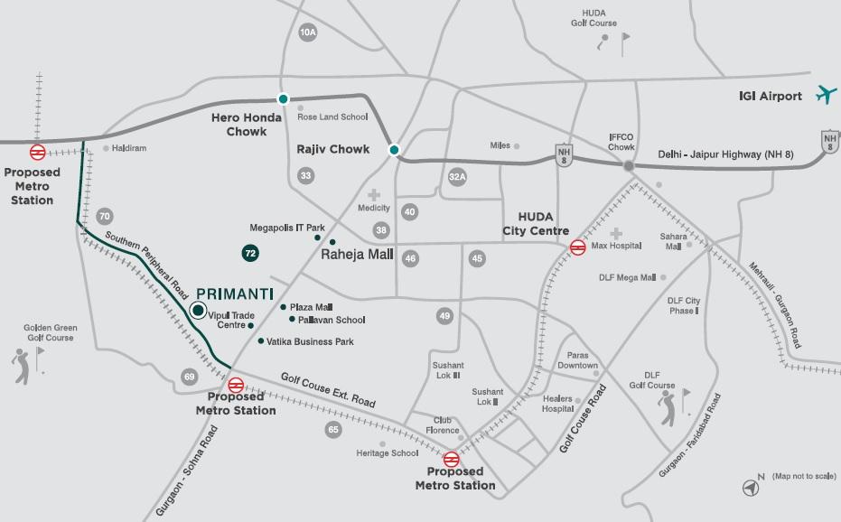 tata primanti villas location image3