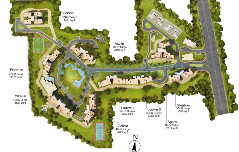 tata raheja raisina residency master plan image1