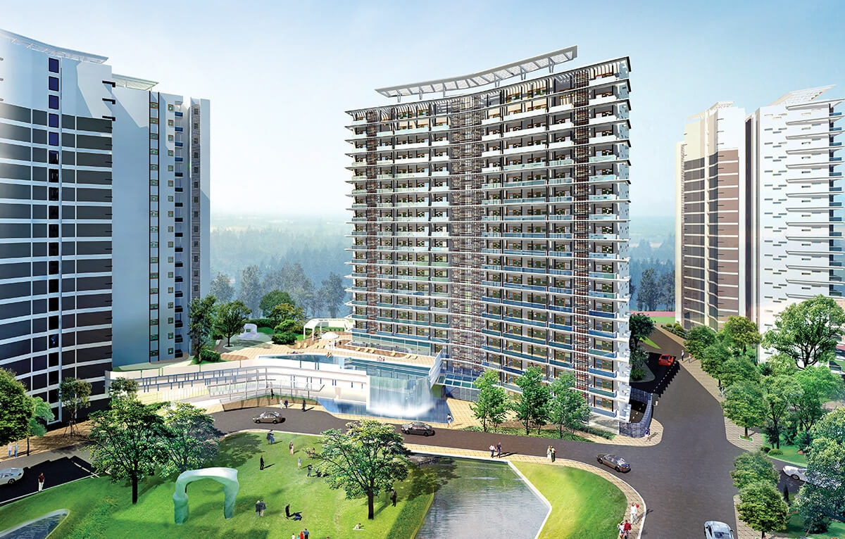 tata raheja raisina residency project tower view4