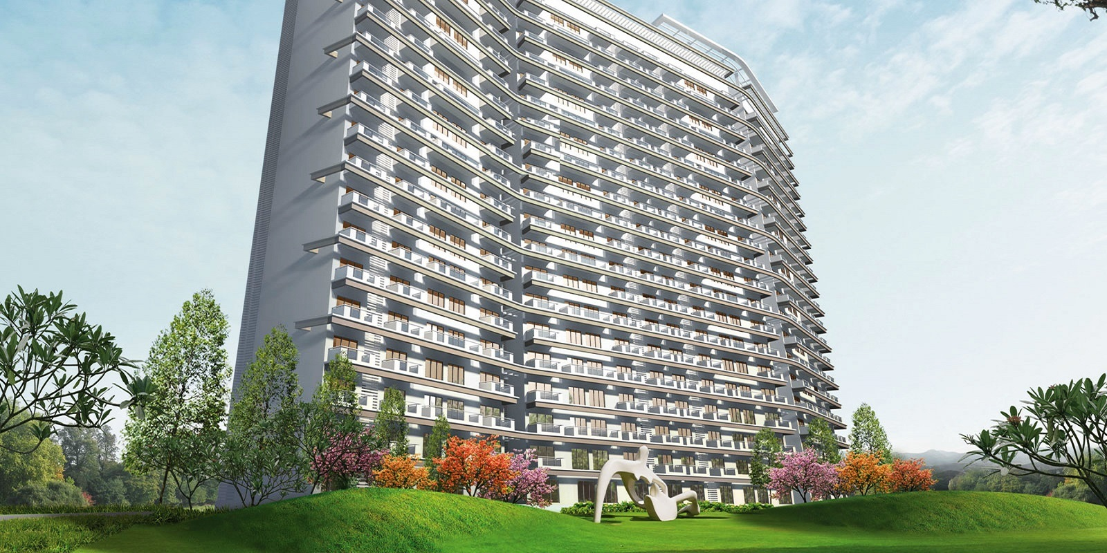 tata raheja raisina residency project tower view7