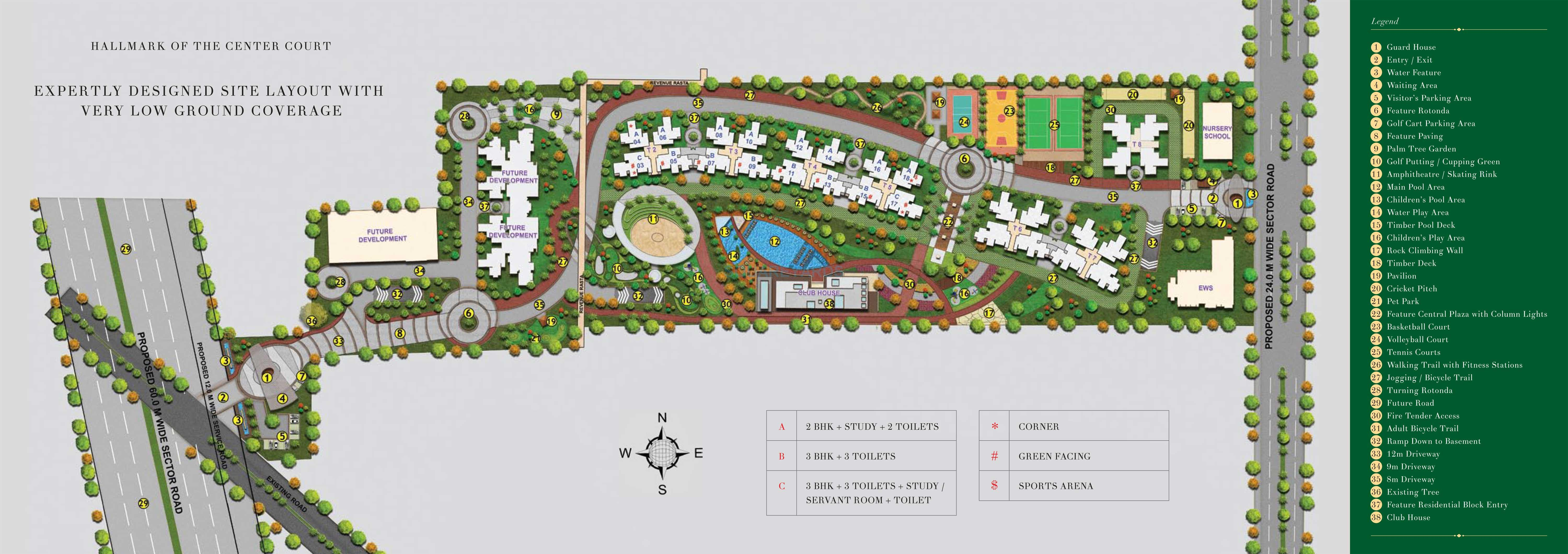 the center court sports residencies master plan image1