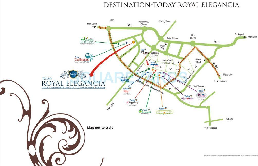 today homes royal elegancia location image1