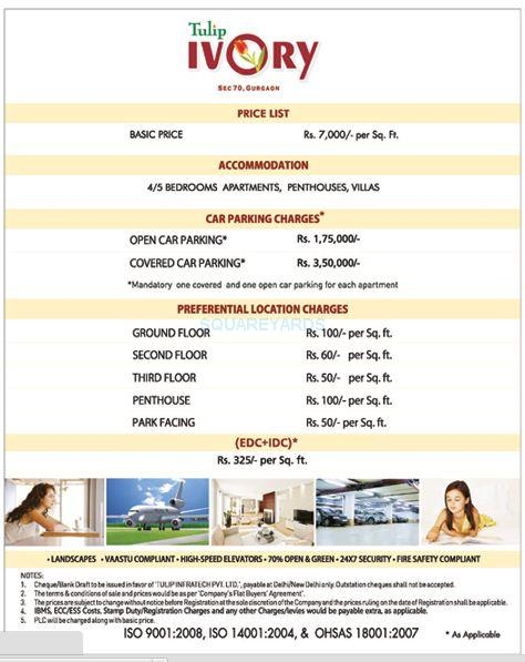 tulip ivory apartments payment plan image1