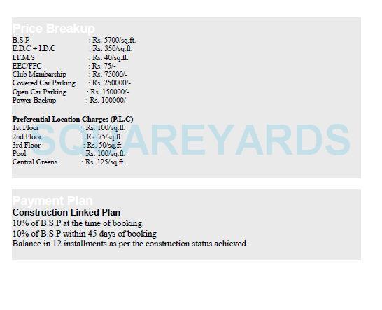 umang winter hills payment plan image1