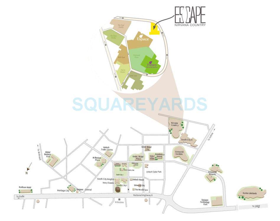 unitech escape location image1