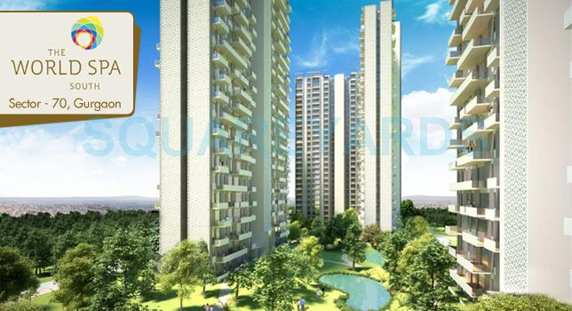 unitech the world spa tower view1