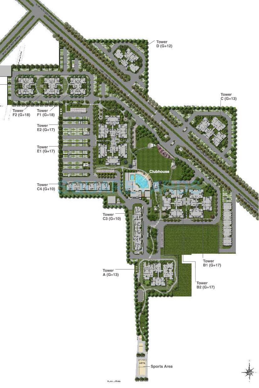 vatika gurgaon 21 master plan image1