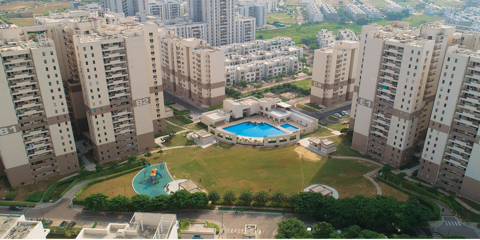 vatika gurgaon 21 tower view7