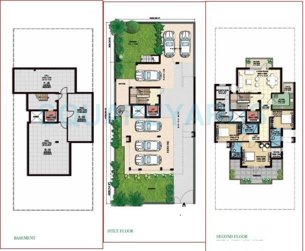 anant raj the estate floors ind floor 3bhk 2391sqft 1