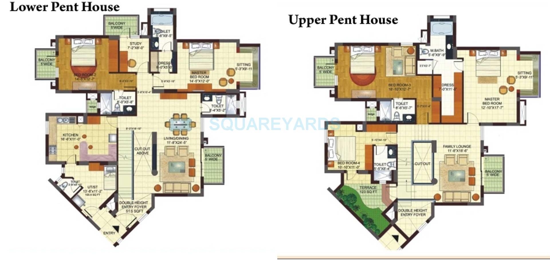 bptp freedom park life penthouse 5bhk 5361sqft 1