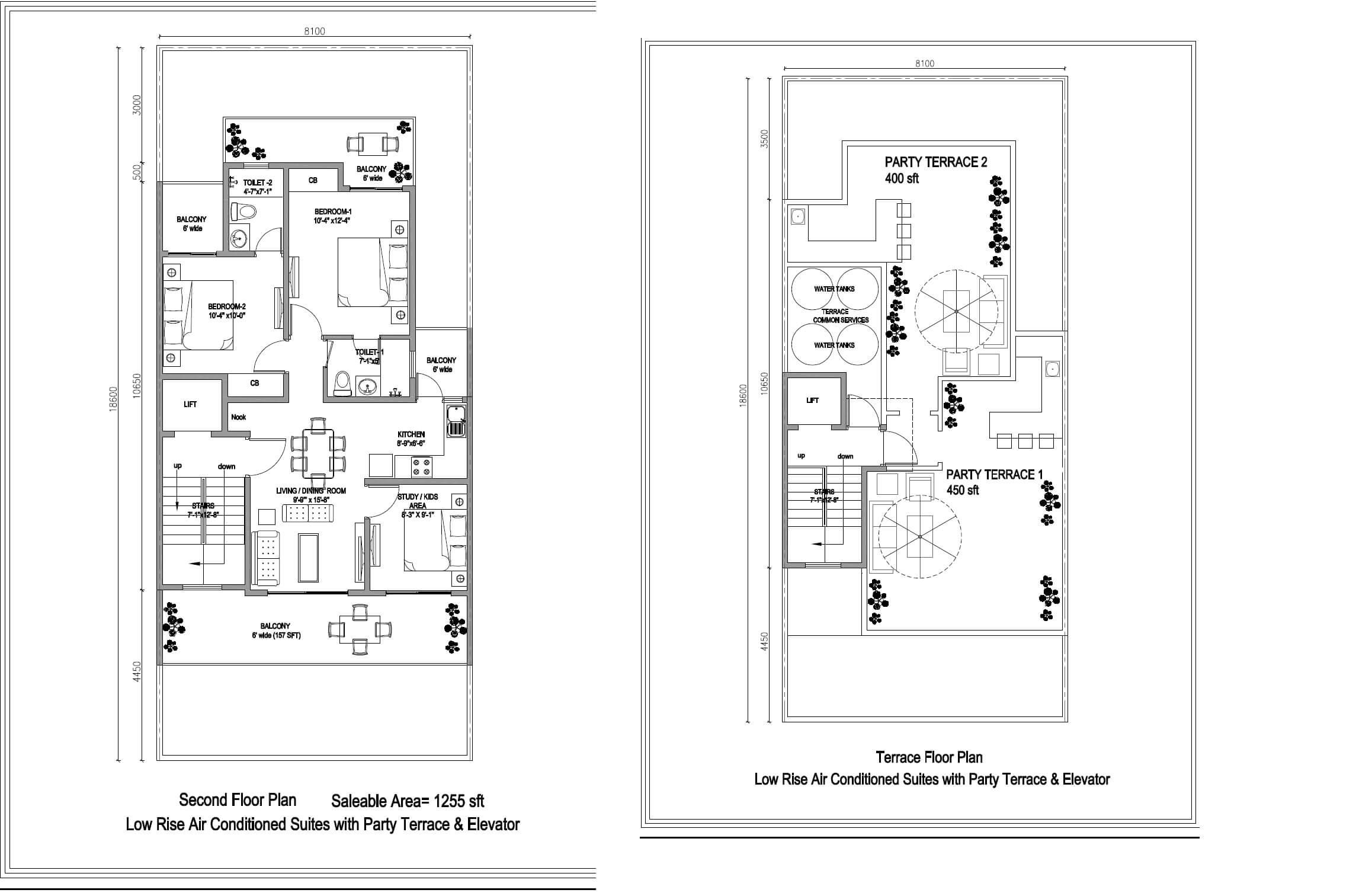 central park cerise suites apartment 2bhk 1255sqft 1