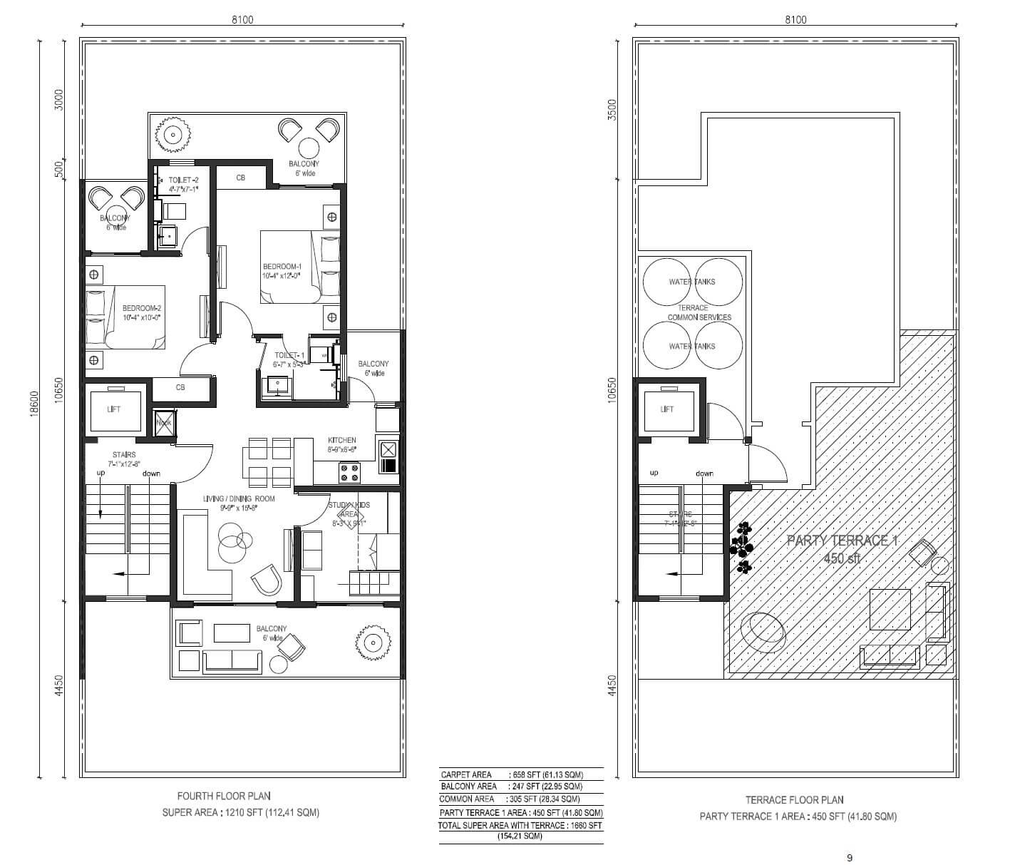 central park cerise suites apartment 2bhk st 1660sqft 1