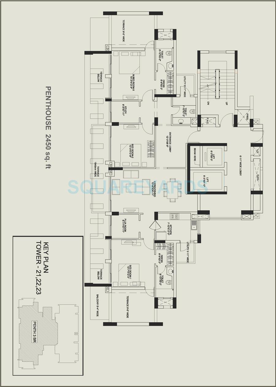 Central Park Ii Belgravia Resort Residences Price Starting