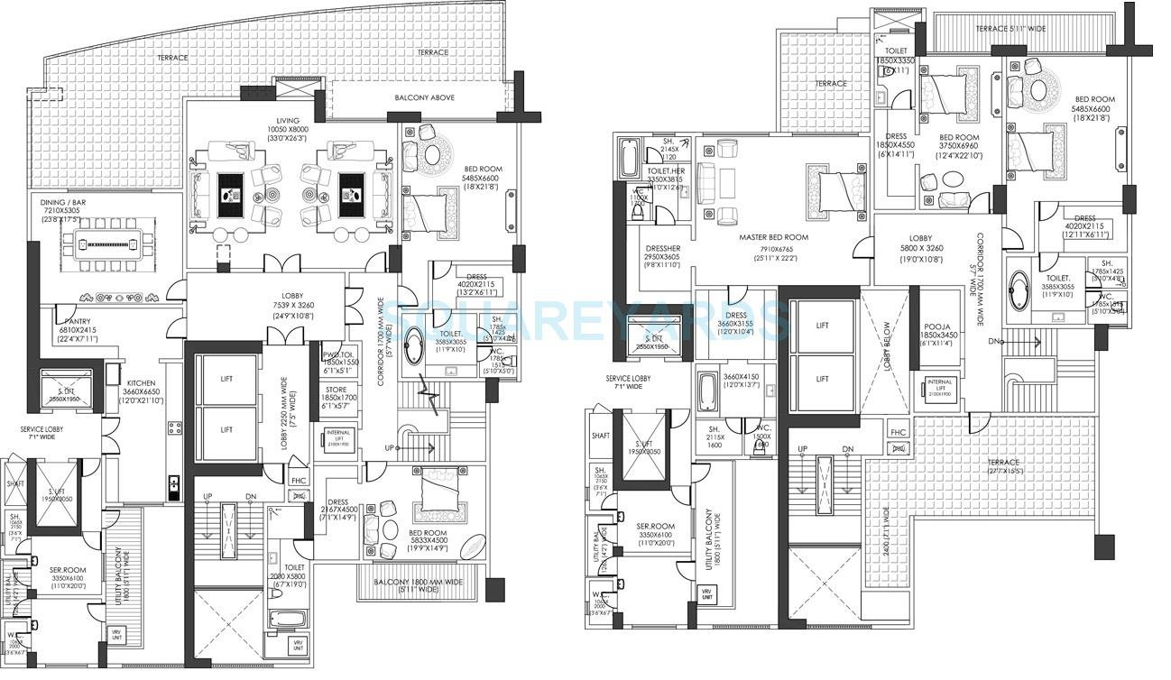 5 BHK 13035 Sq. Ft. Penthouse for Sale in DLF The Camellias at Rs ...