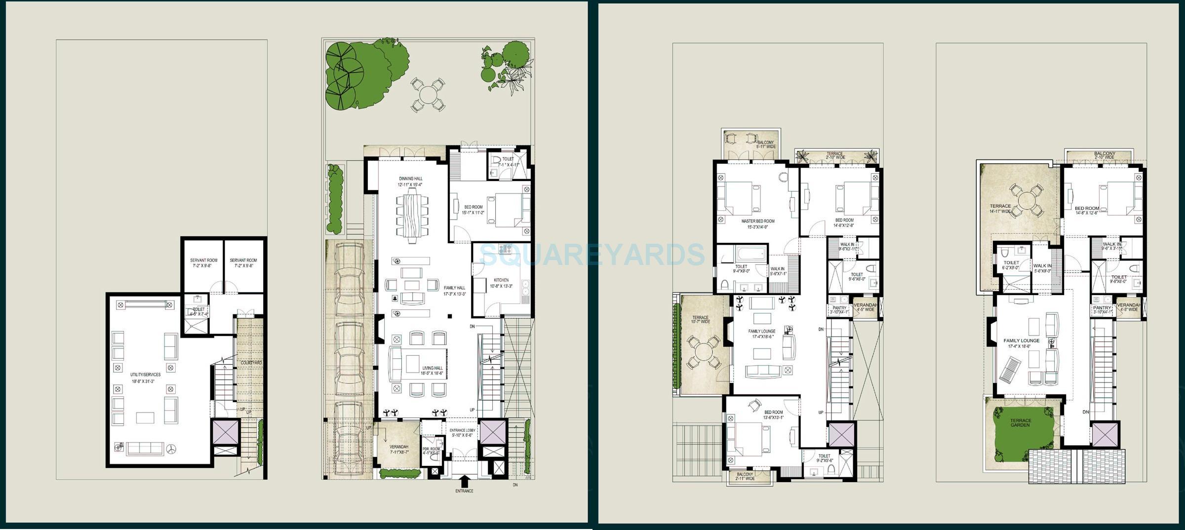 emaar mgf the palm springs villa 5bhk sq 5975sqft 1