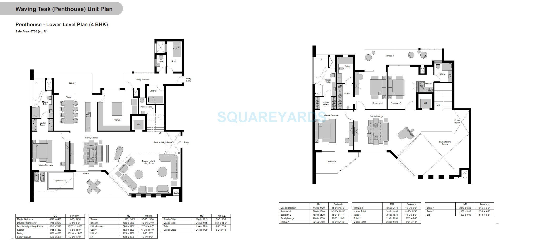 experion windchants penthouse 4bhk 6700sqft 1