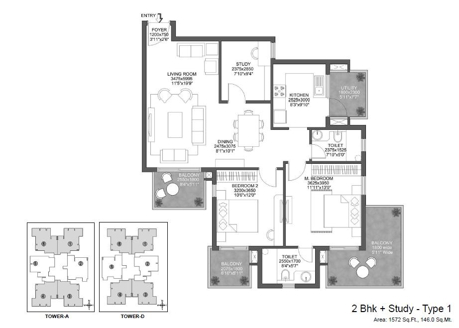 godrej 101 apartment 2bhk st 1572sqft 1