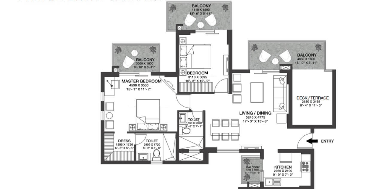godrej nature plus apartment 2bhk 834sqft 1