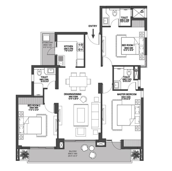 godrej prive apartment 3bhk 1202sqft61