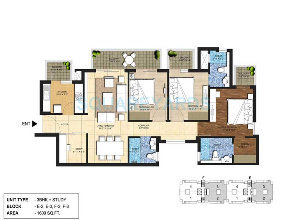 indiabulls centrum park apartment 3bhk st 1600sqft 1