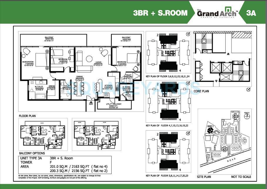 ireo the grand arch apartment 3bhk sroom 2163sqft 1