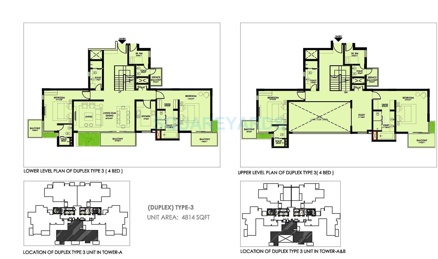 ireo victory valley apartment 4bhk sq 4814sqft 1