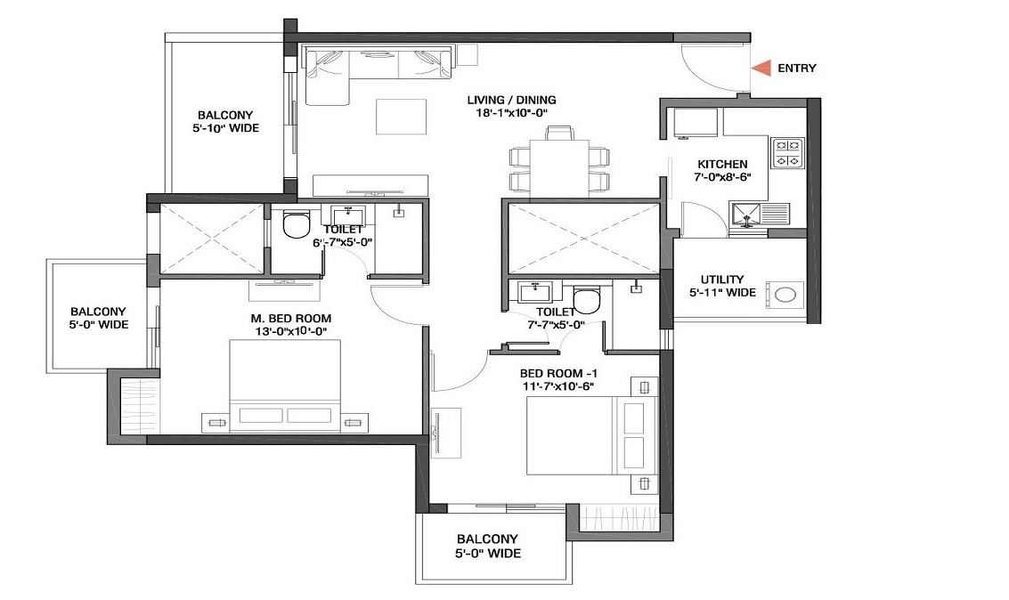 m3m flora 68 apartment 2 bhk 1279sqft 20210005150050