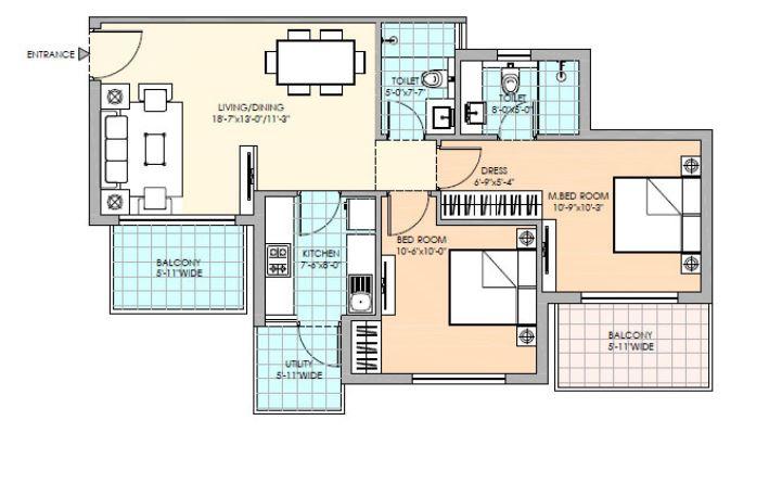 m3m sierra apartment 2 bhk 1244sqft 20200330150333