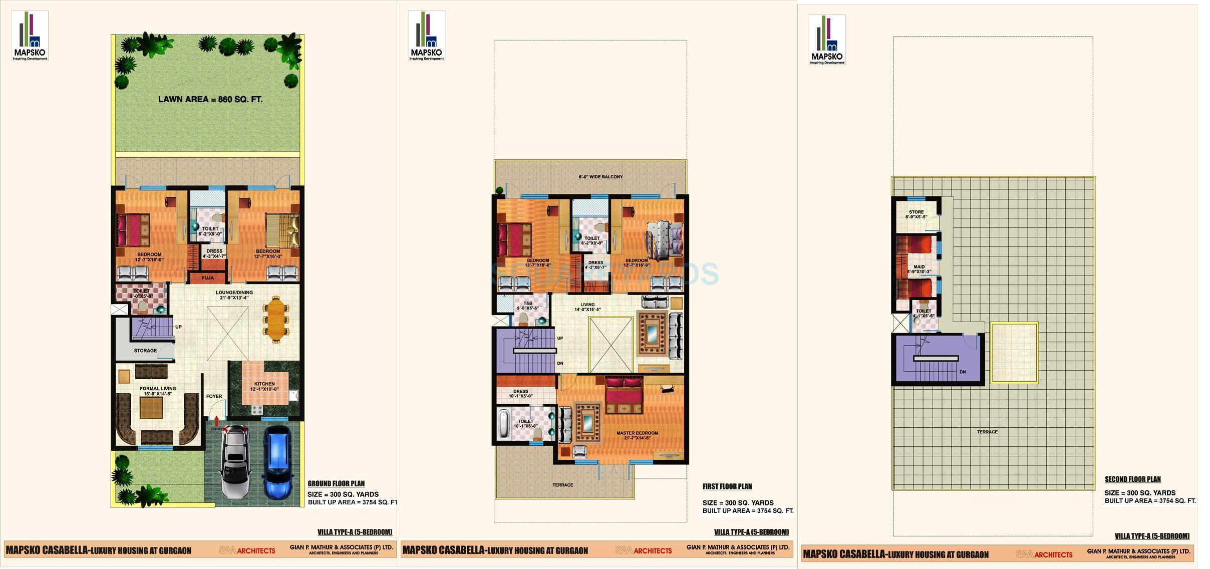 mapsko casa bella villas villa 5bhk 3754sqft 1