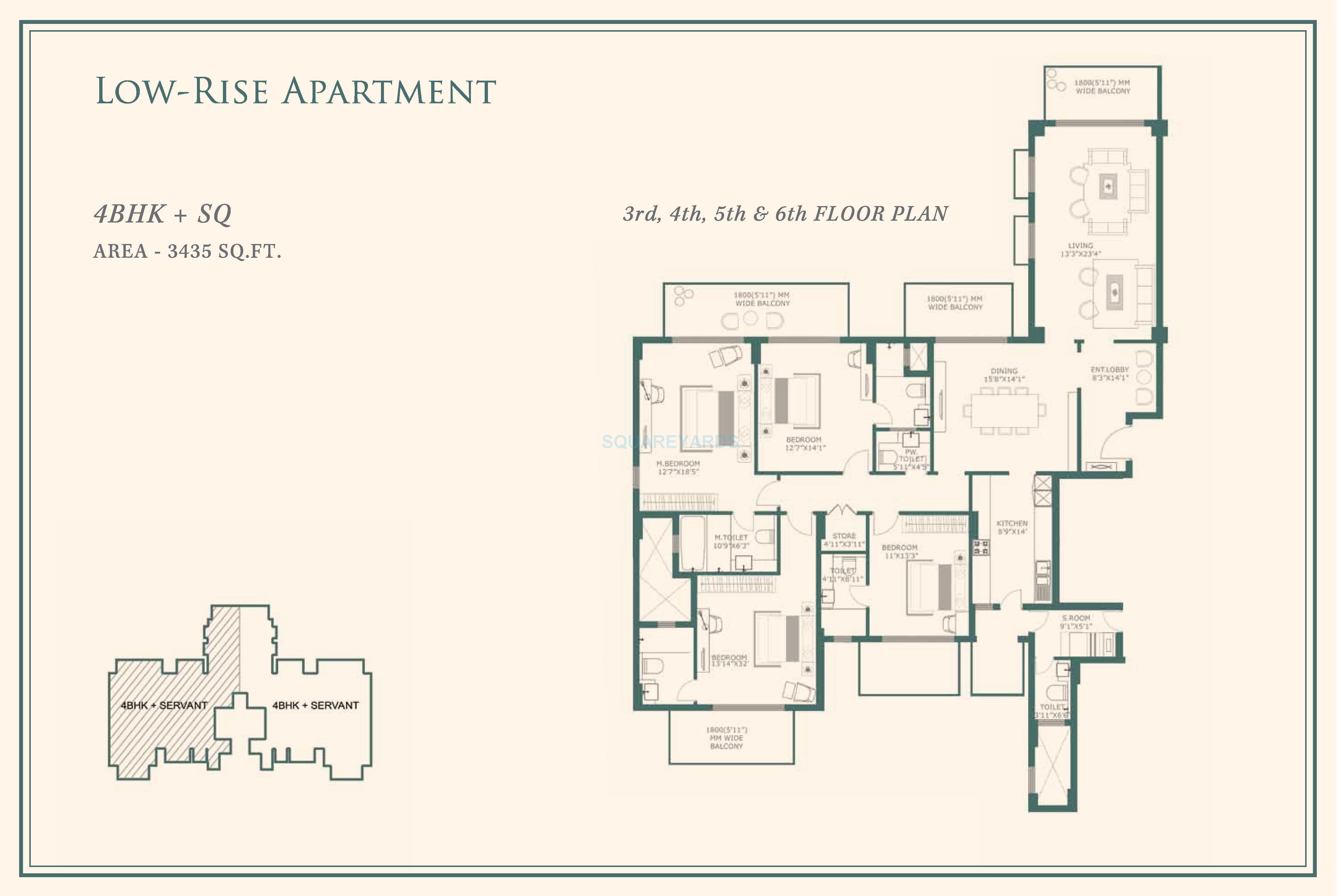 one indiabulls apartment 4bhk sq 3435sqft 1