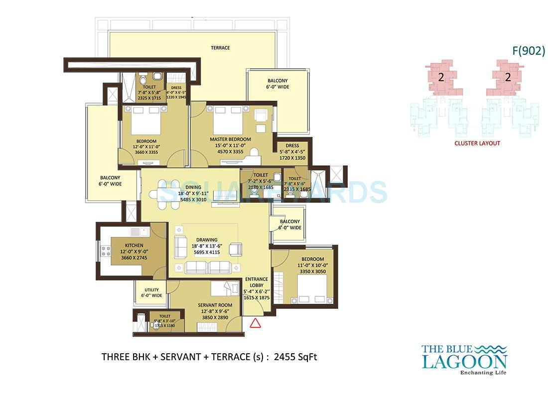 orris the blue lagoon apartment 3bhk 2455sqft 1