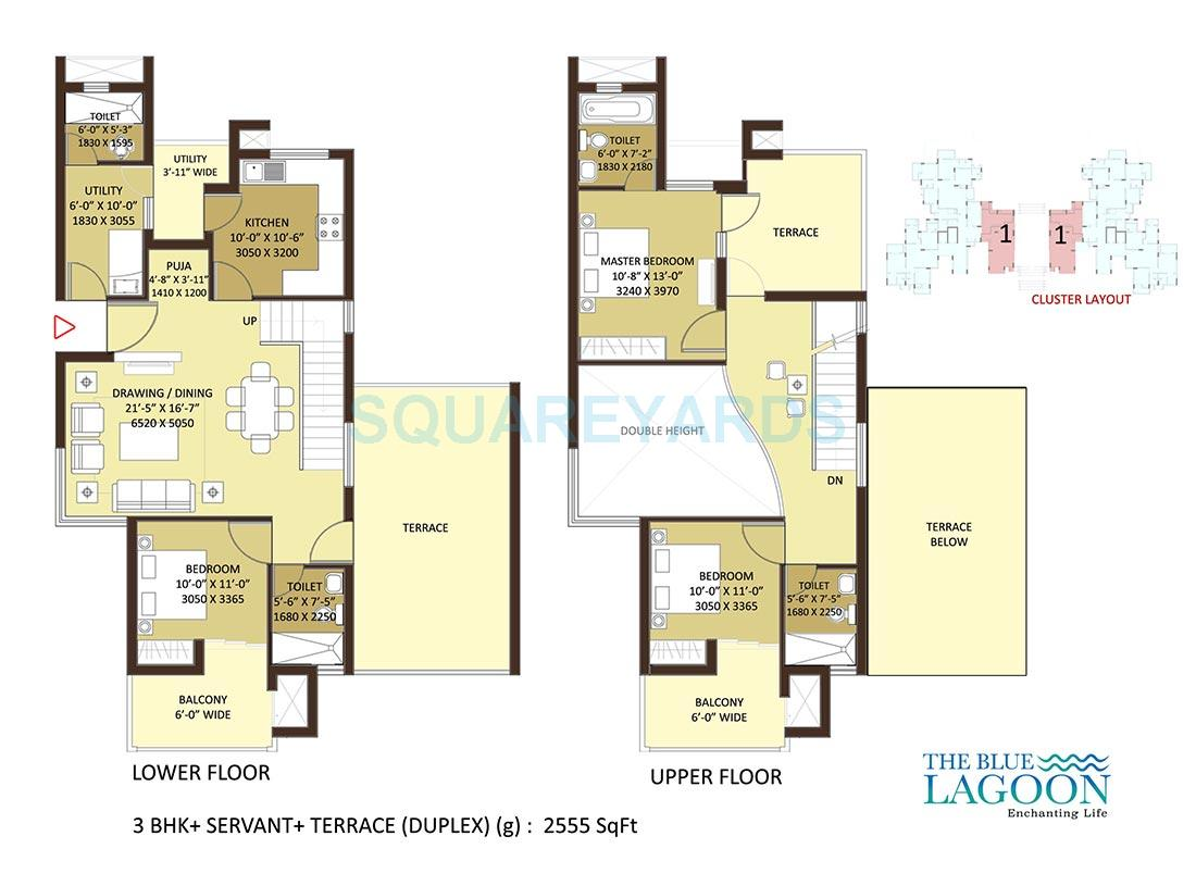 orris the blue lagoon apartment 3bhk 2555sqft 1