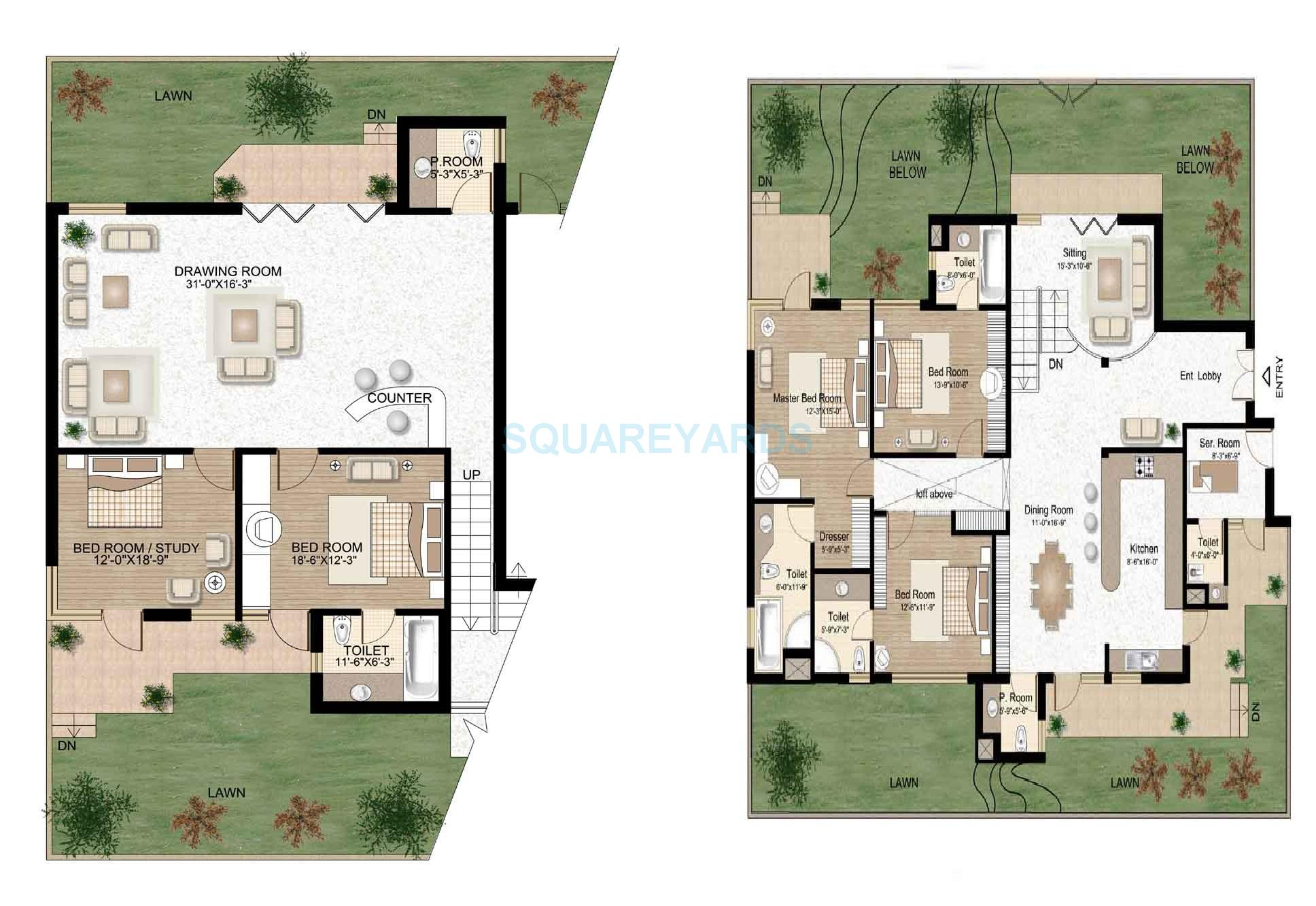 raheja atlantis penthouse 5bhk sq 3320sqft 1