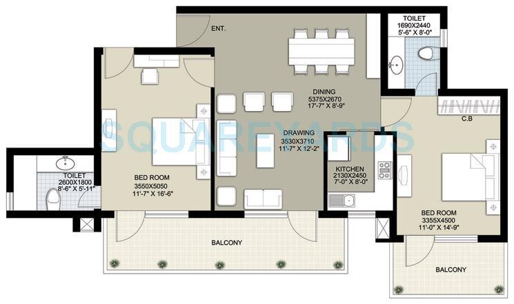 raheja navodaya apartment 2bhk 1498sqft 1